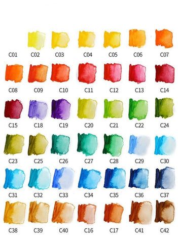 Image of The Ultimate 42 Water Color Kit