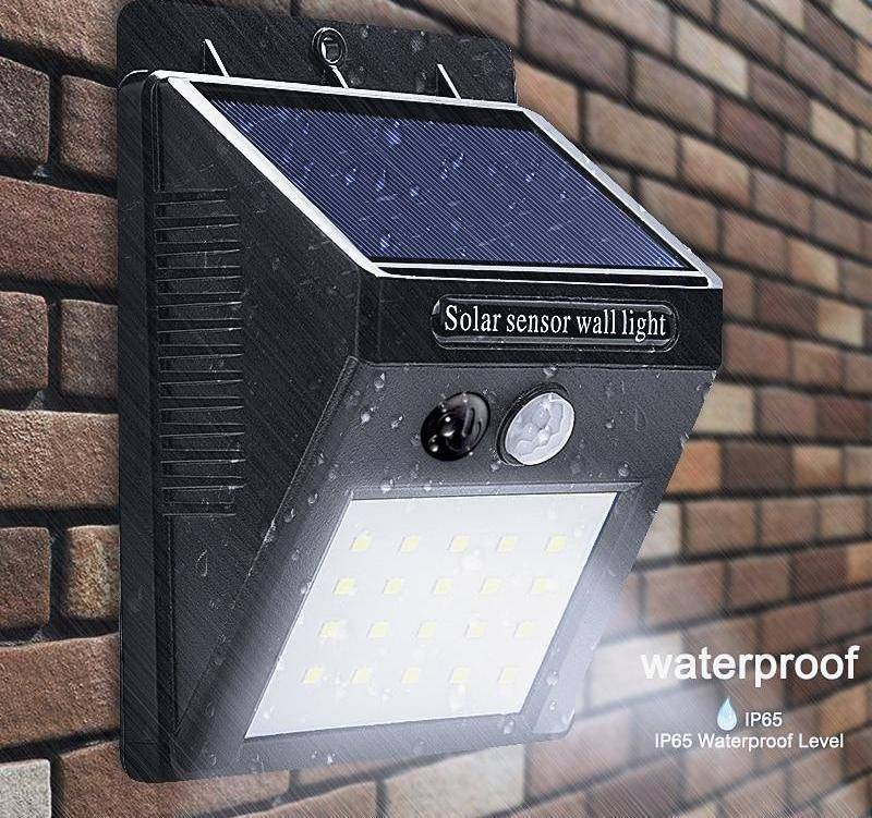 LED Solar Light™ (Motion Sensor Powered)