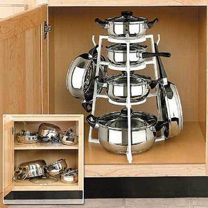 Detachable Multi-layer Pot Rack