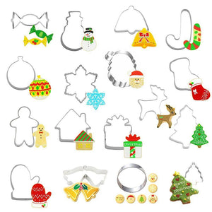 Christmas Cookie Cutter (7 Random Pieces)