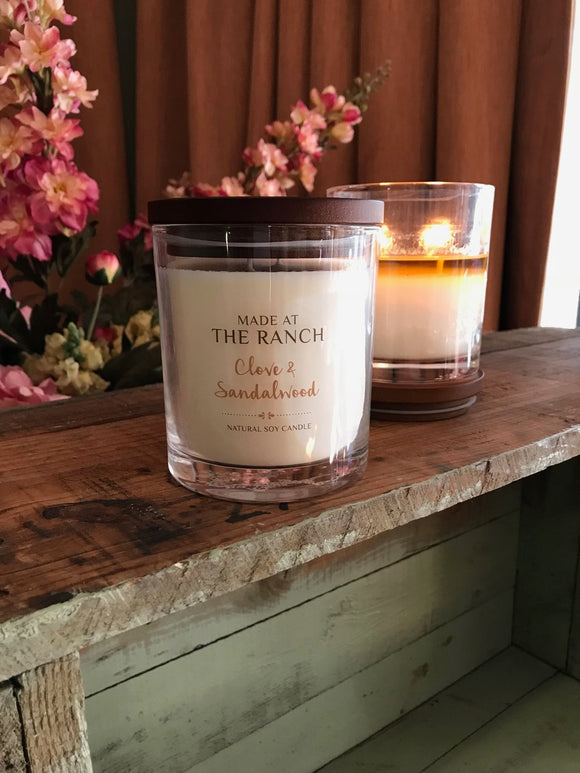 made at the ranch candle soy australian made