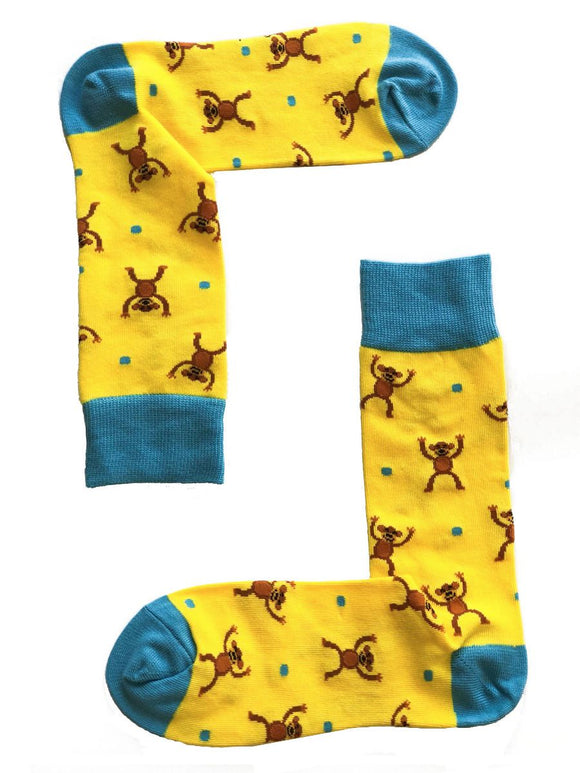 SOX by angus Monkey Cheer Socks
