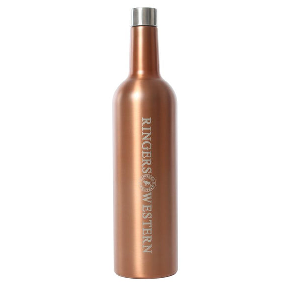 Ringers Western Daisy Wine Bottle Rose Gold