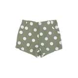 Love Henry Kids Tailored Shorts Olive Spot