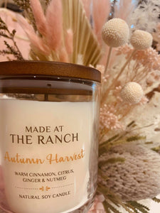 Made At The Ranch Candle Autumn Harvest Travel Tin