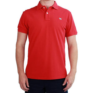 Ringers Western Mens Classic Polo Red