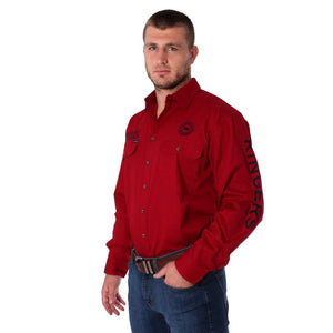 Ringers Western Hawkeye Mens Shirt Red