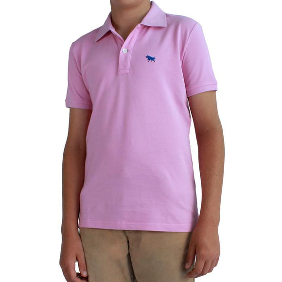 Ringers Western Kids Kimberley Polo Pastel Pink