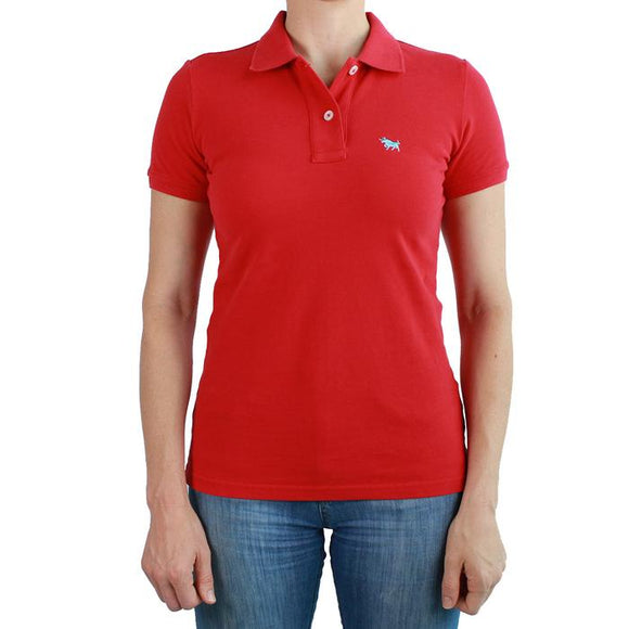 Ringers Western Wmns Classic Polo Red