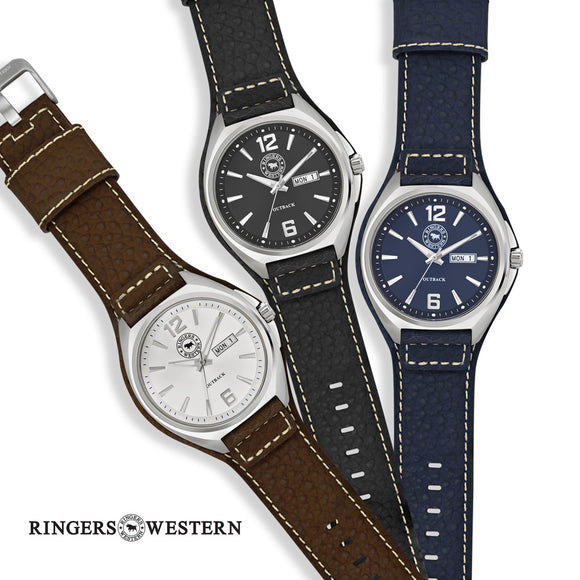 Ringers Western Outback Watch Leather Band