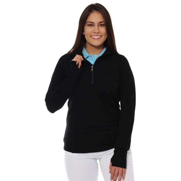 Ringers Western Gippsland Wmns Wool Sweater Black