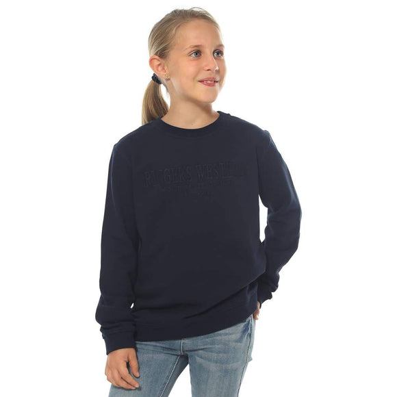 Ringers Western Bindoon Kids Crew Neck Pullover Ink