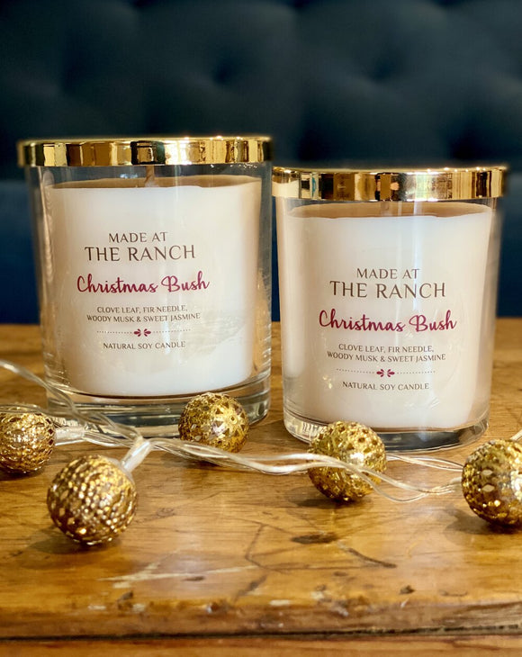Made At The Ranch Candle Christmas Bush XLarge