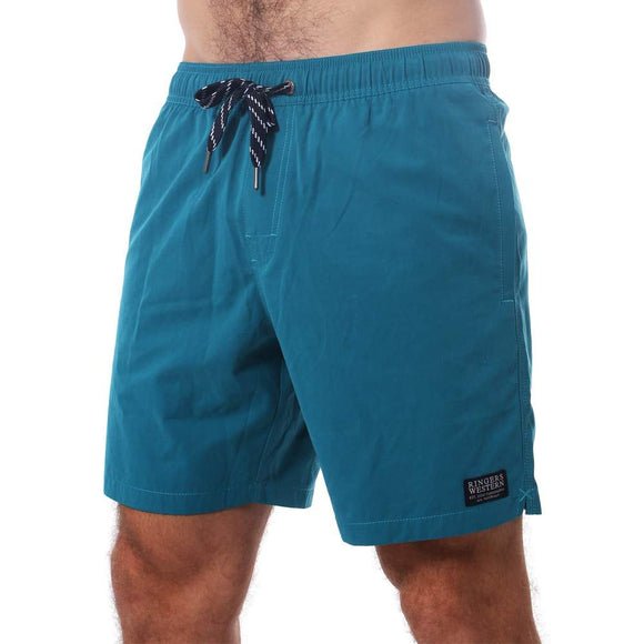 Ringers Western Monkey Mia Mens Swim Short Teal