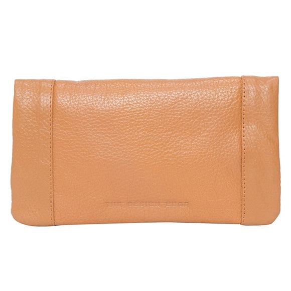 The Design Edge The Design Edge Madison Grain Leather Fold Wallet