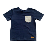Love Henry Kids Pocket Tee Navy