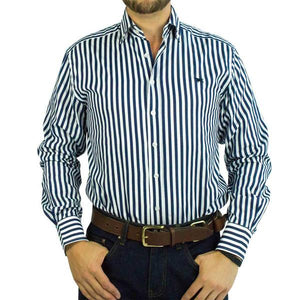 Ringers Western Caulfield Mens Shirt Navy