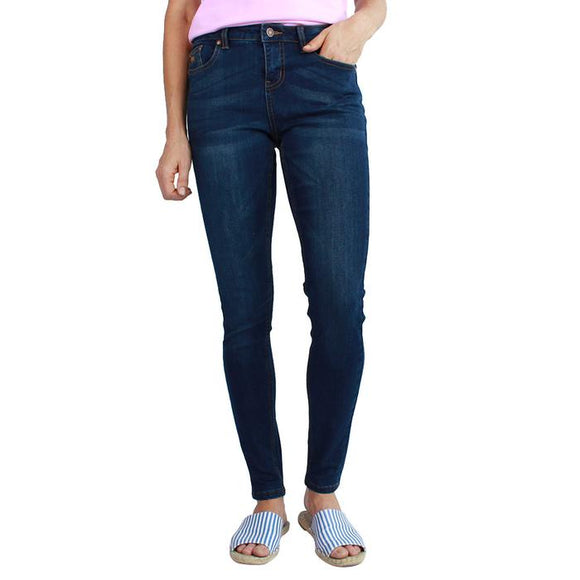 Ringers Western Sophie Wmns Jean Skinny Leg Classic Blue