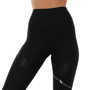 Ringers Western Adelaide Full Length Tights Black