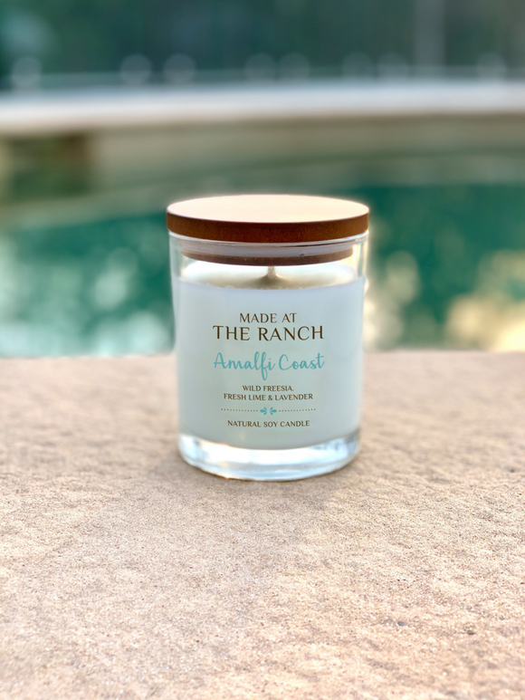 Made At The Ranch Candle Amalfi Coast Travel Tin
