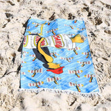 Kurly Wurly Bar ChikoMan Super Soft Beach Towel