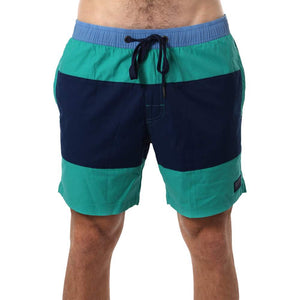 Ringers Western Margaret River Mens Swim Short Navy / Deep Mint