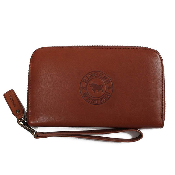 Ringers Western Tathra Wmns Zip Purse Chocolate