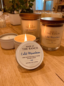 Made At The Ranch Candle Cold Mountain Large