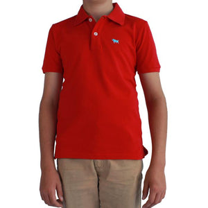 Ringers Western Kids Kimberley Polo Red
