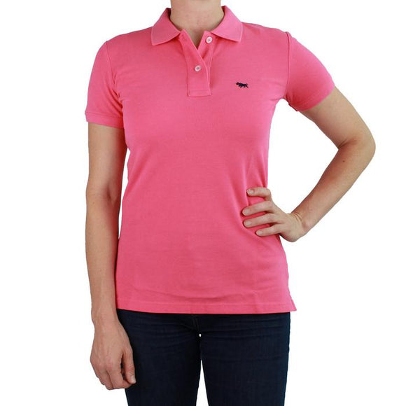 Ringers Western Wmns Classic Polo Melon