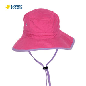 Cancer Council Kids Bucket Hat B819