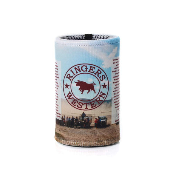 Ringers Western Signature Bull Stubby Cooler The Story