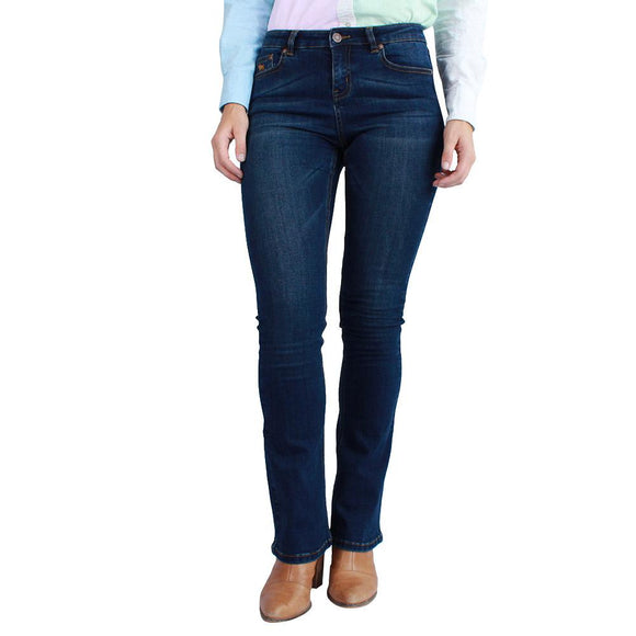Ringers Western Katherine Wmns Jean Classic Blue