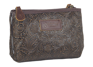 Travel Bag Tooled Medium