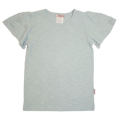 Love Henry Kids Frill Sleeve Top Teal