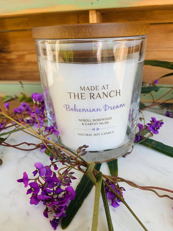 Made At The Ranch Candle Bohemian Dream XLarge