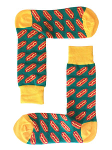SOX by angus Hot Dogs Socks
