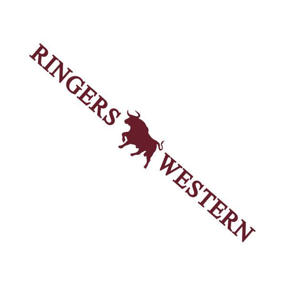 Ringers Western Small Sticker