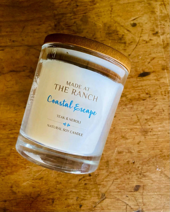 Made At The Ranch Candle Coastal Escape Large