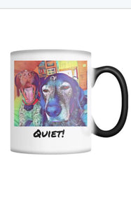 GSP Color Changing Mug 'Quiet'