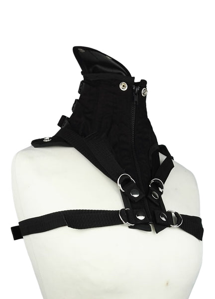 Vegan bdsm posture collar