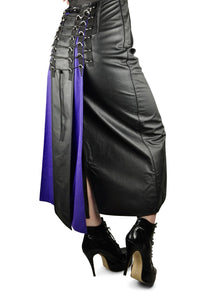 Leather Dominatrix skirt