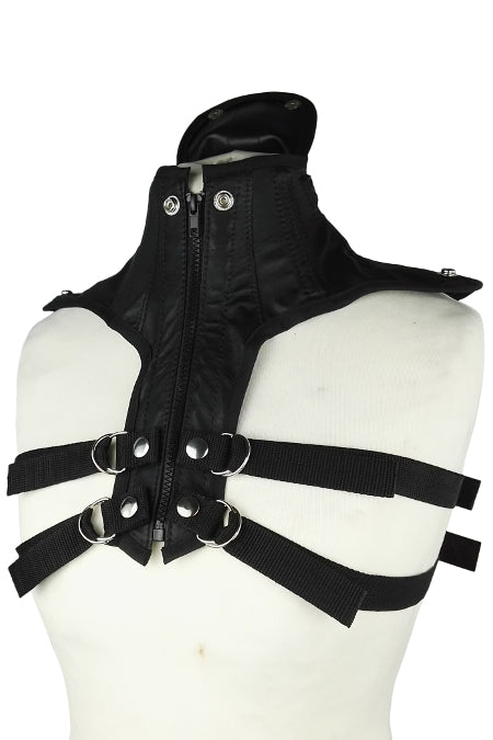 Leather posture collar