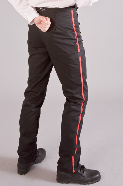 Mens military style trousers