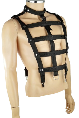 Mens chest harness