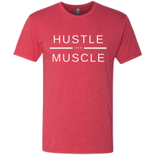 Load image into Gallery viewer, HUSTLE over MUSCLE: Men's Triblend T-Shirt