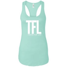 Load image into Gallery viewer, TFL- Train For Life Ladies Ideal Racerback Tank