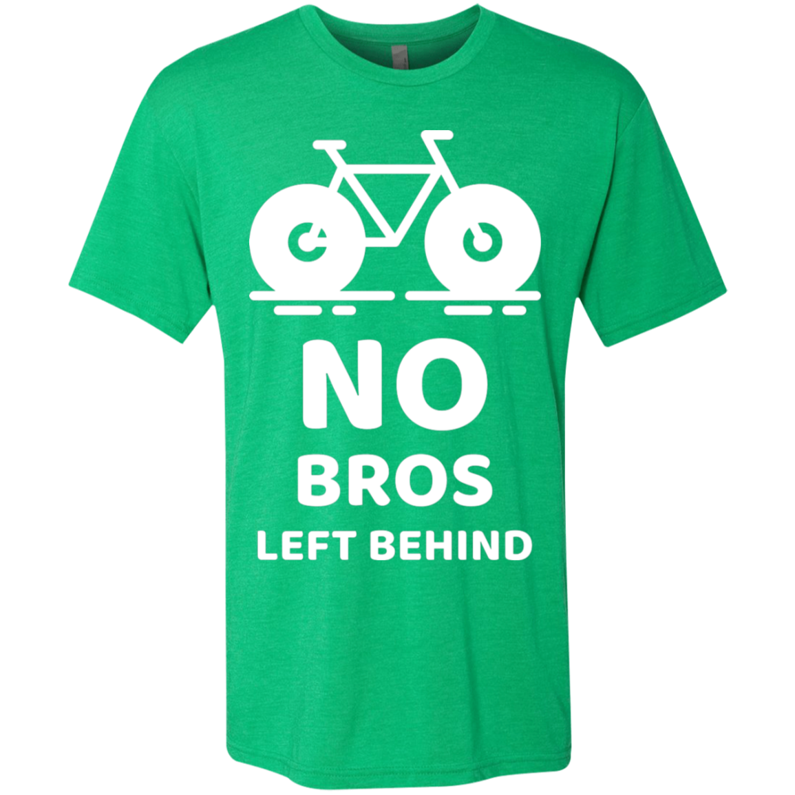 No Bros Left Behind Tri-Blend Premium Men's T-Shirt