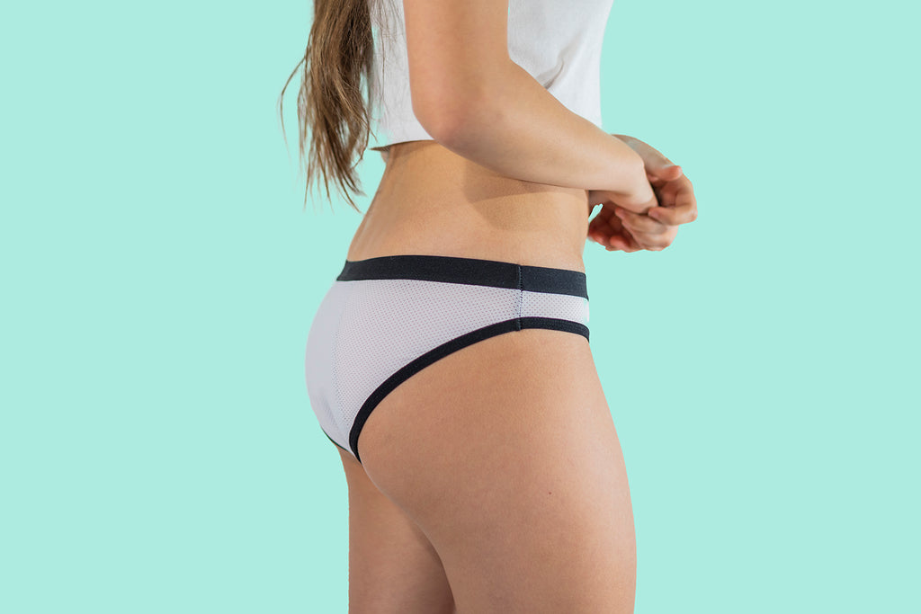 Sporty Hipster period proof underwear - Heavy flow