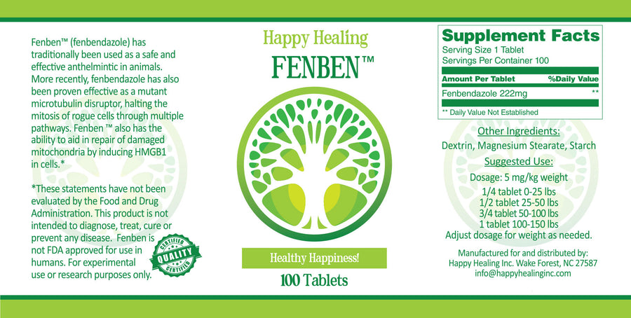 Fenben™ 222 or 300 mg